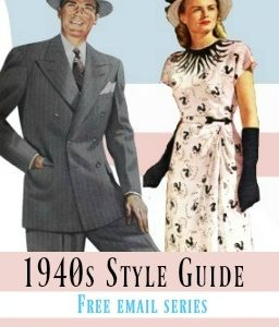 Kleding 40's style